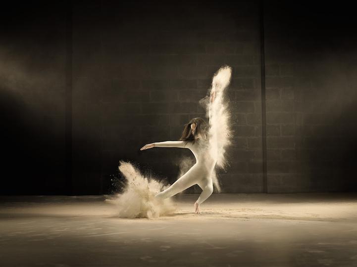 retratos bailarina acrobática