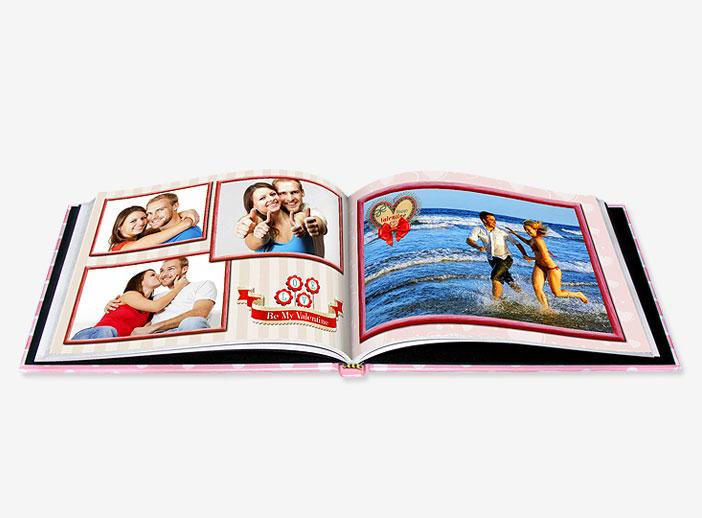 Libro de fotos personalizado con vuestra historia de amor