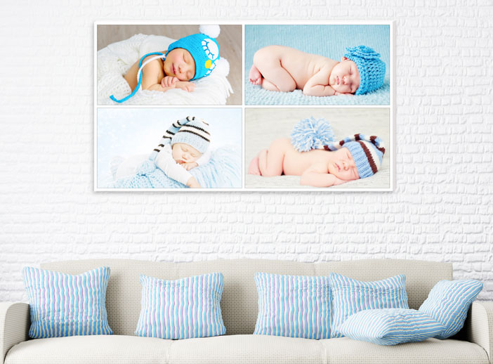 Light-panel para decorar con fotos habitaciones de niños
