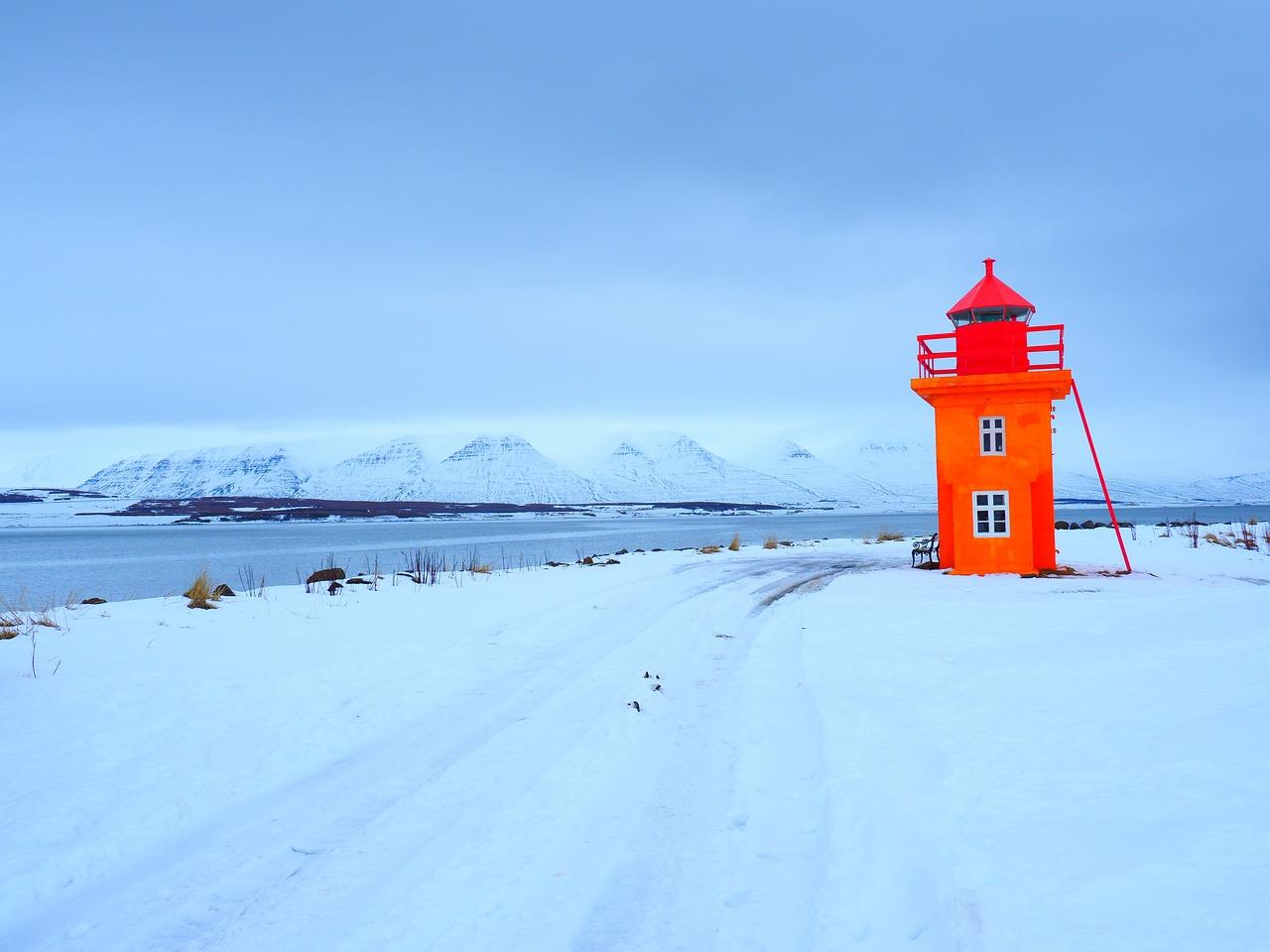Imagen en tonos azulados (temperatura de color fría)