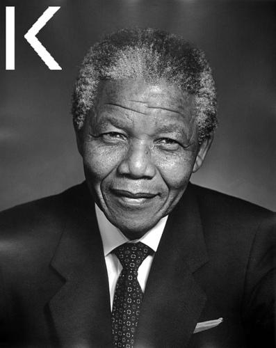 Retrato Karsh Mandela