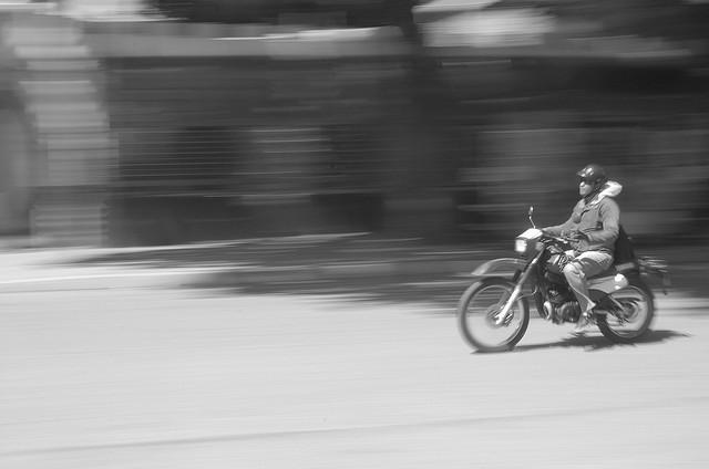 regla Movimiento moto