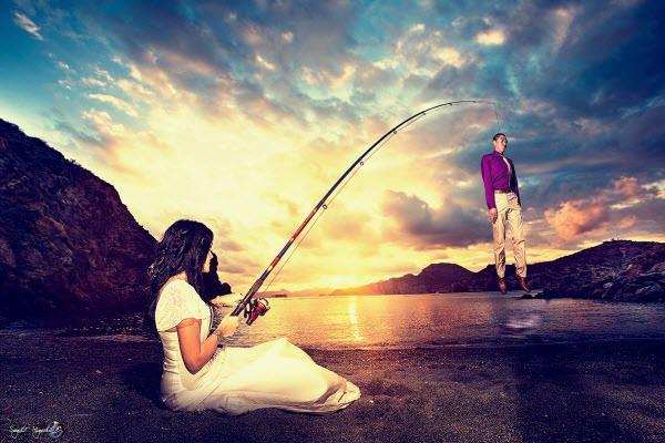 Pescando a un novio