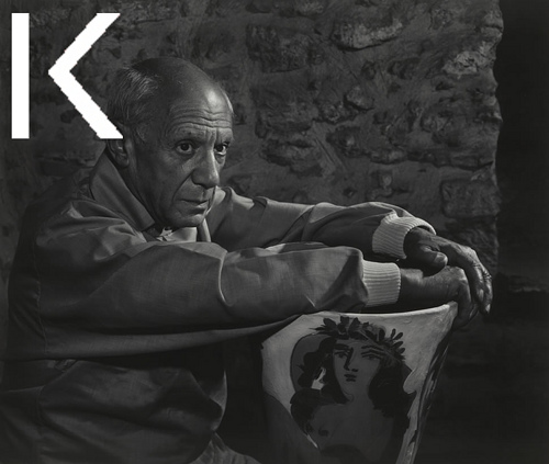 Retrato Picasso Karsh