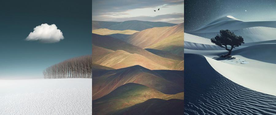 Ganadoras en la categoríad e paisajes de los premios Hasselblad