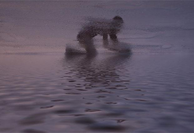 fotos reflejos en la playa