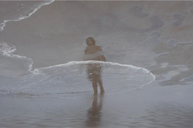 fotos reflejos playa