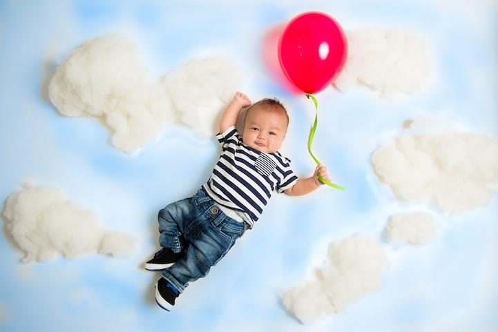 fotos bebes creativas