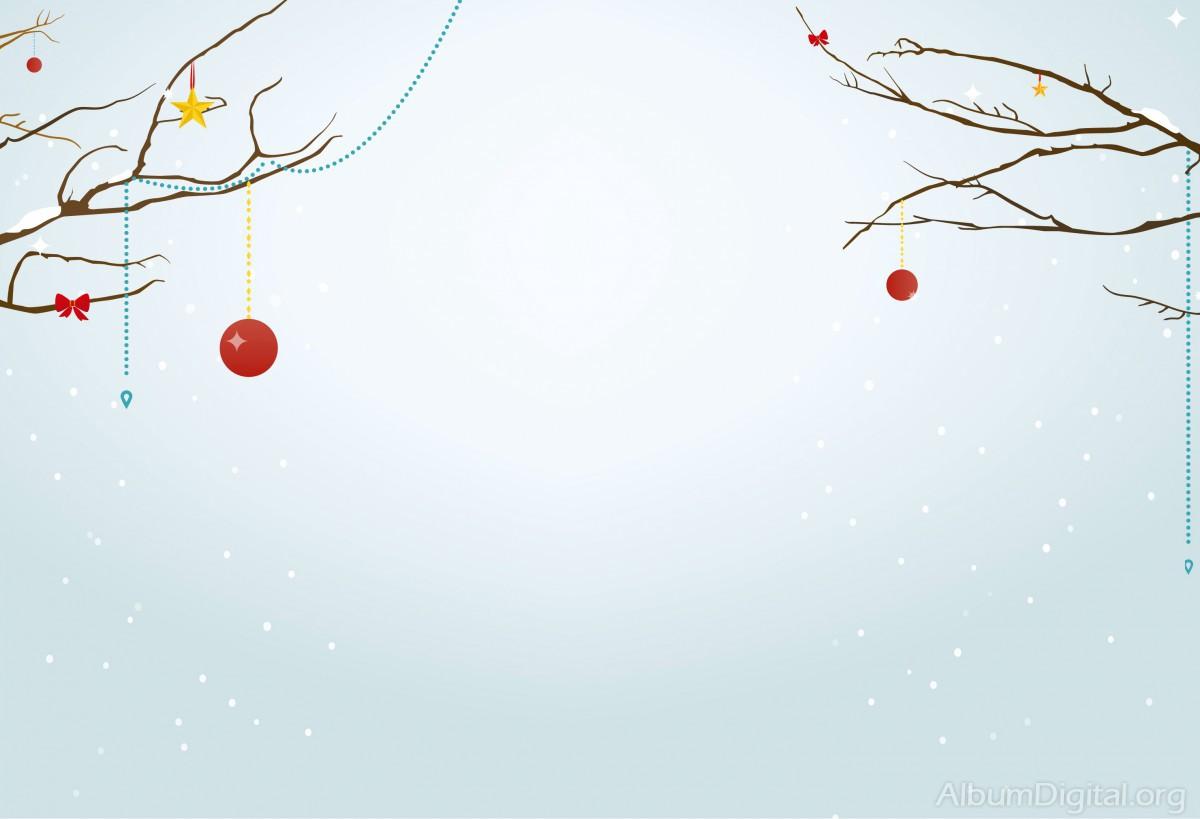 Rboles con adornos navide os fondo para navidad classic - Fotos arboles navidenos ...