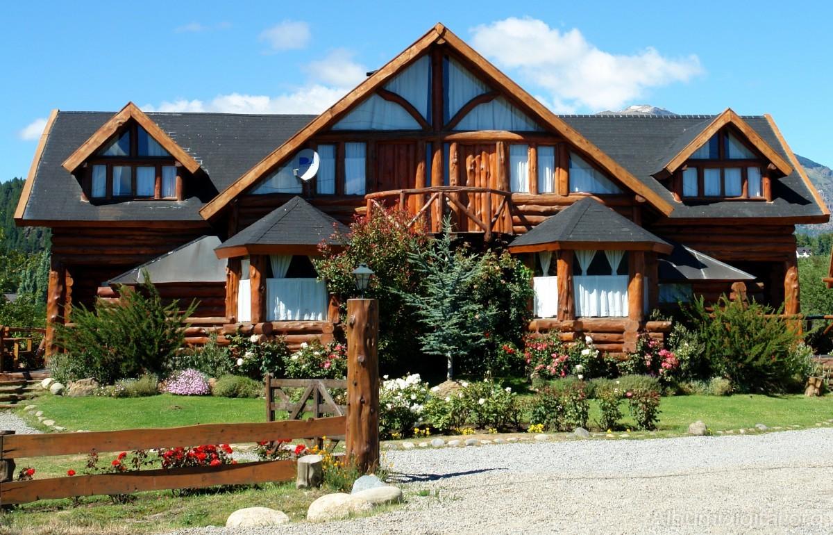 Casa de madera - Fotos de casas de campo de madera ...