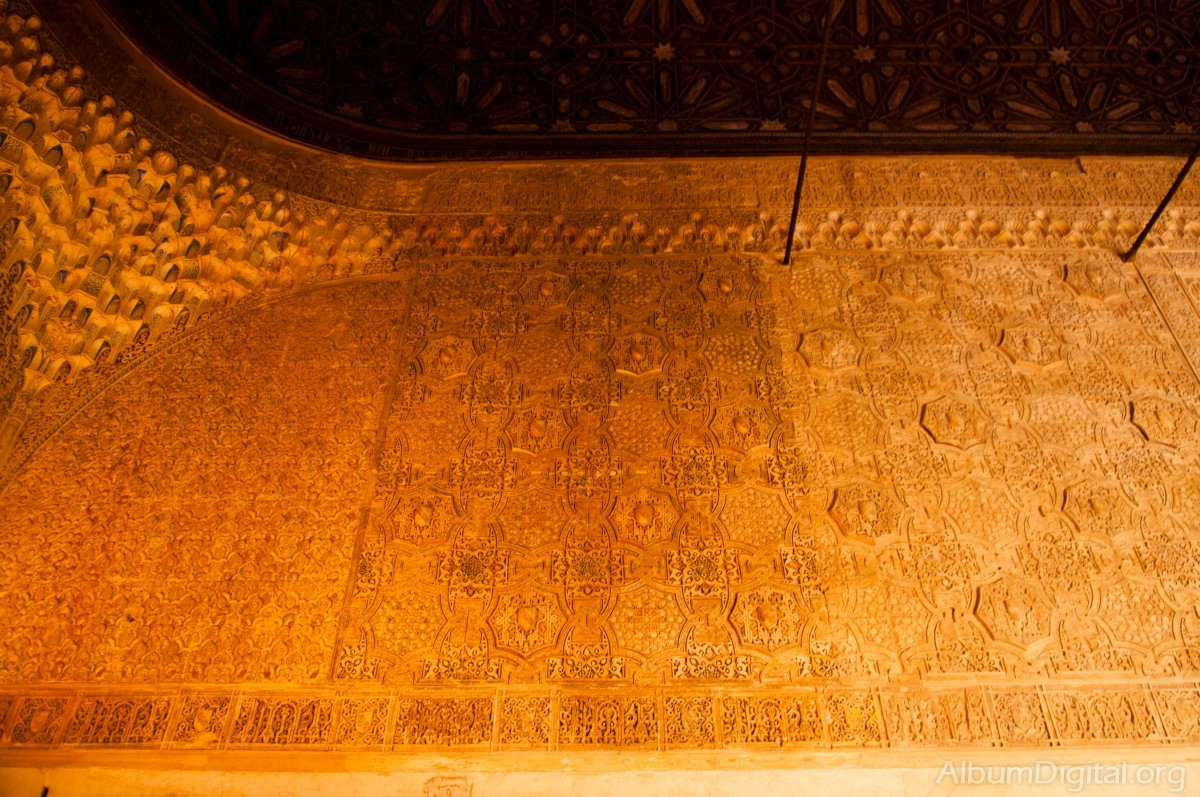 Detalle decoracion alhambra de granada - Decoracion granada ...