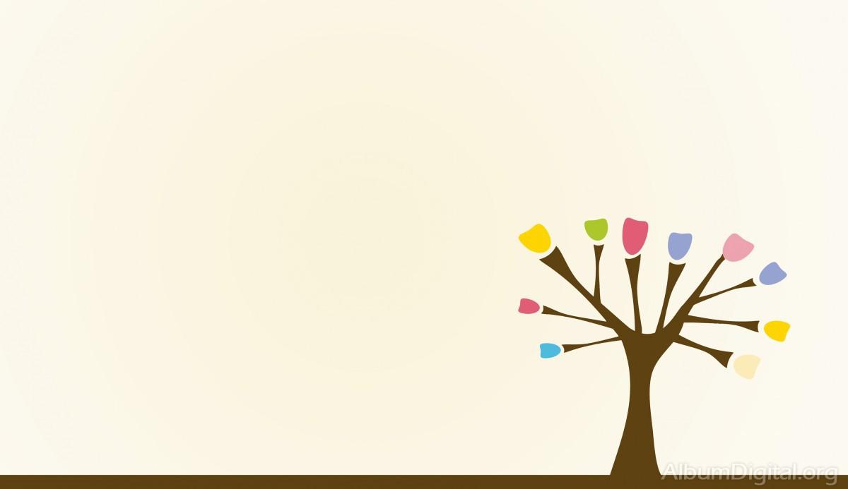 Fondo Album Primavera árbol Classic