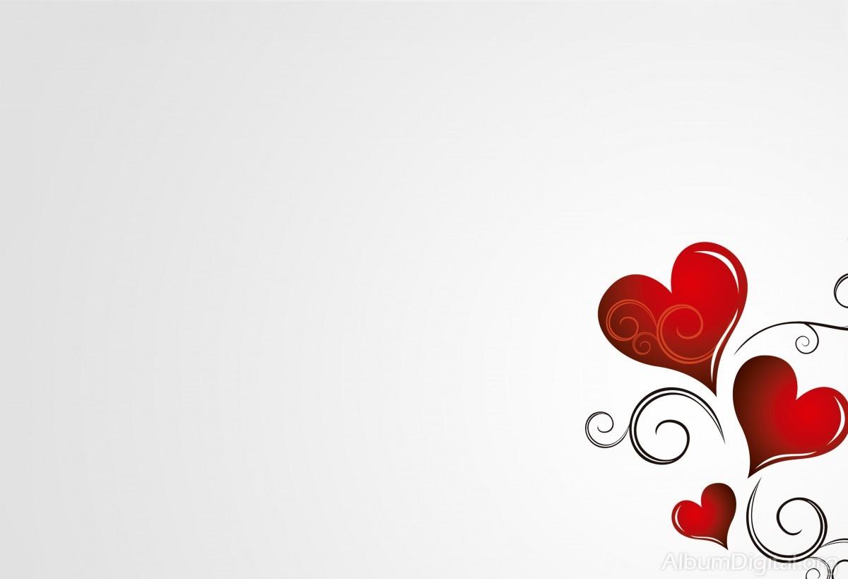 Fondos de corazones rojos - Imagui