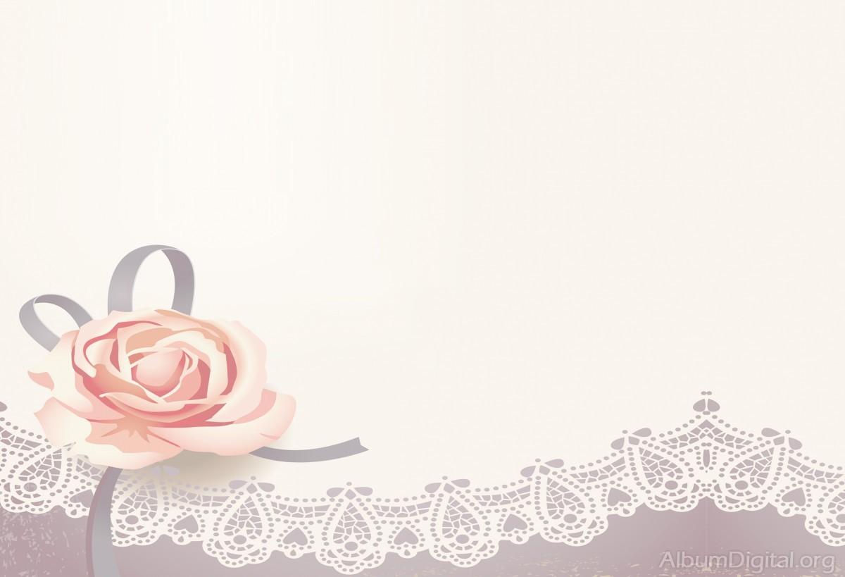 Fondo Primavera álbum Classic Flores Violetas: Fondo Comunión Para álbum Classic Rosa Y Encaje