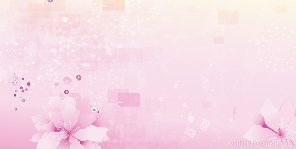 Fondo Comunión Rosa Para álbum Maxi