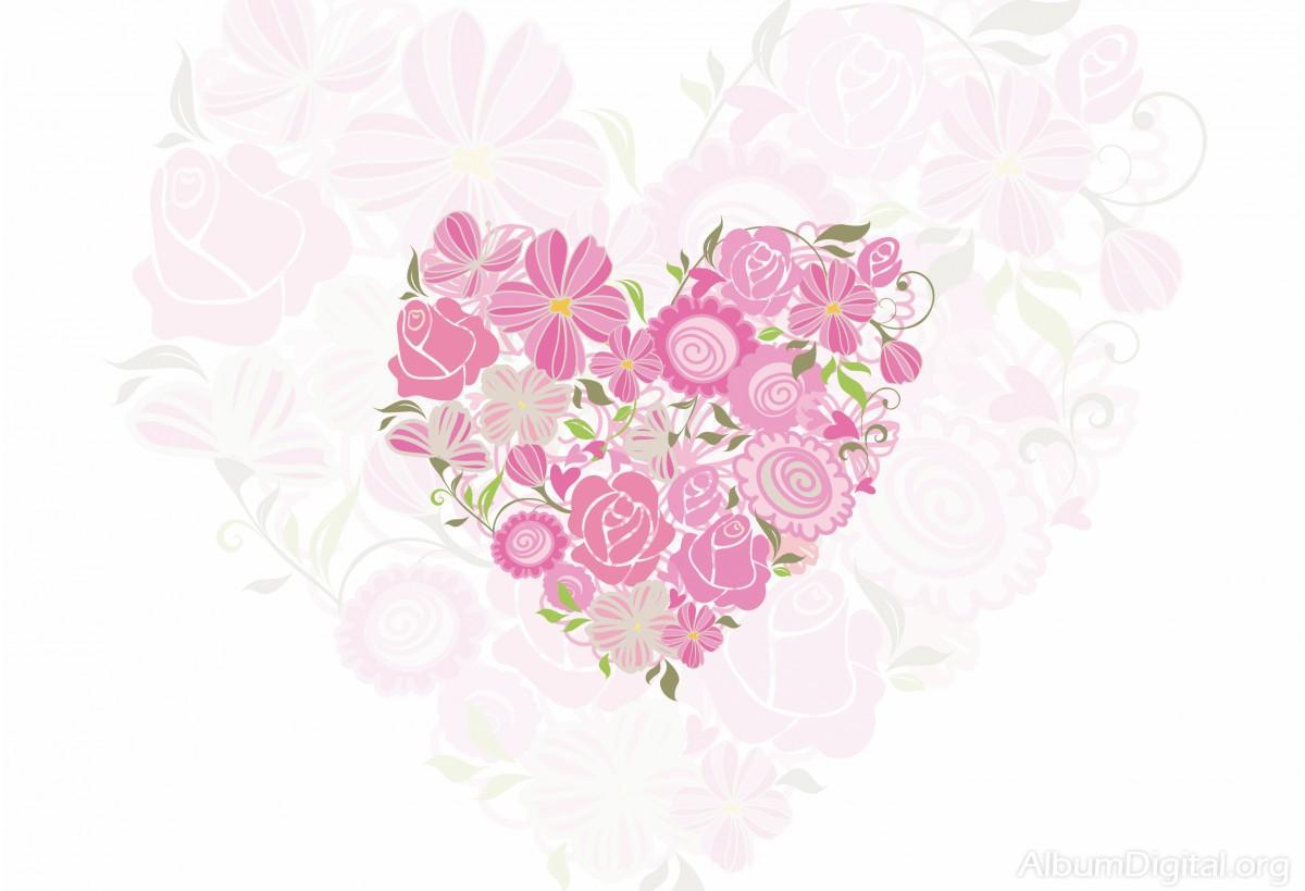 Fondo Primavera álbum Classic Flores Violetas: Flores Fondo
