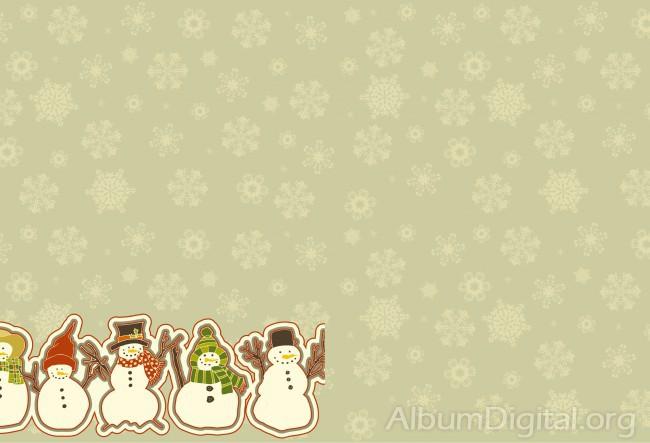 21eaeb54c7318 Fondo de muñecos de nieve. Tamaño classic