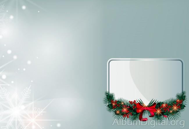 cc8226045e00d Fondo navideño con recuadro blanco. Tamaño classic