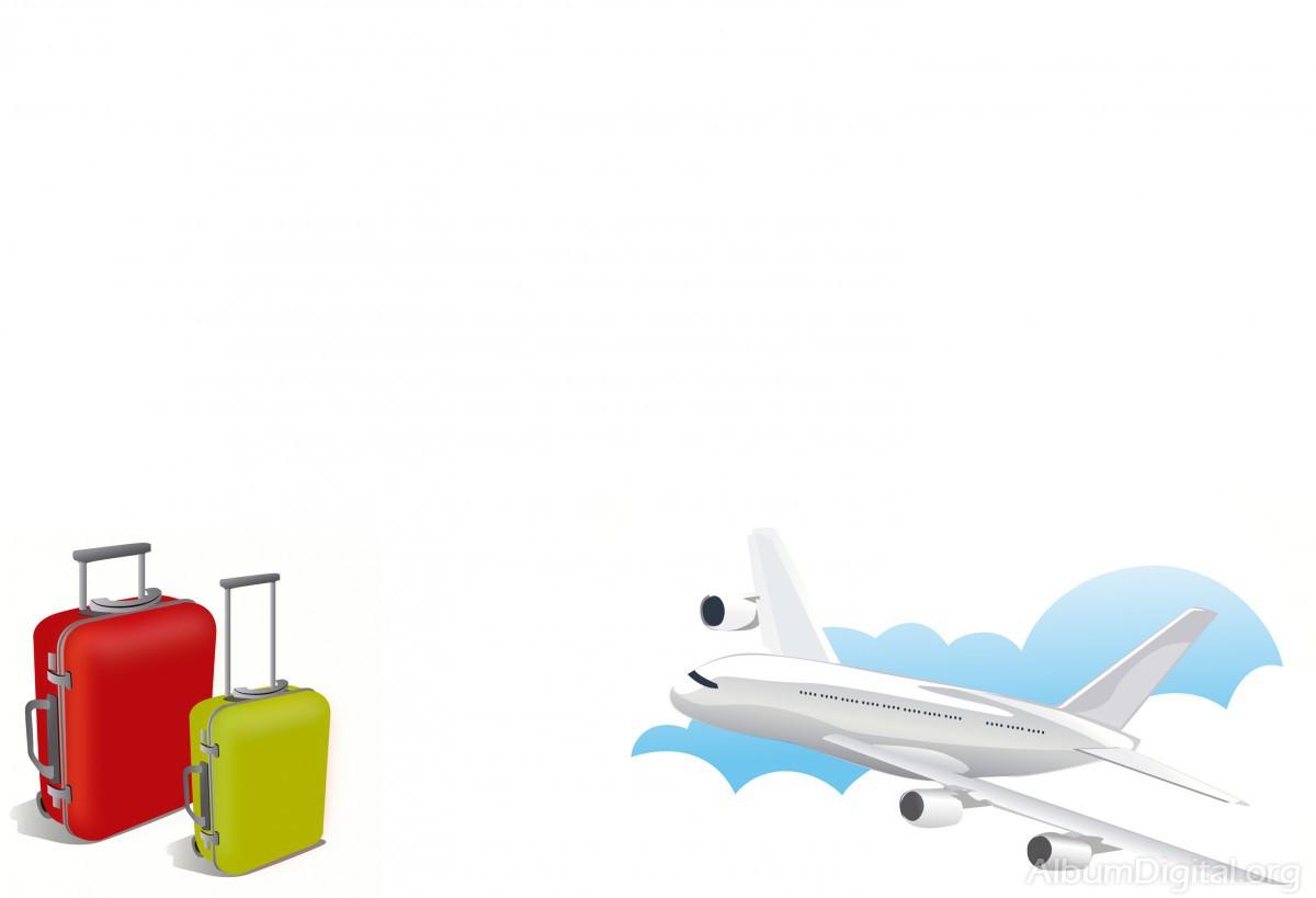Para Albumes De Viaje Formato Classic Maletas Y Avion