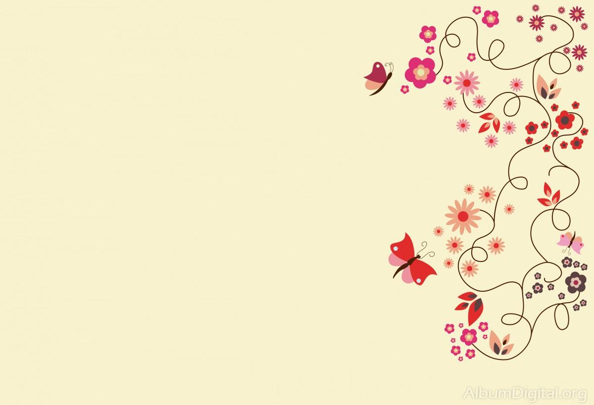 Fondo Primavera: Fondo Primavera álbum Classic Flores Y Mariposas