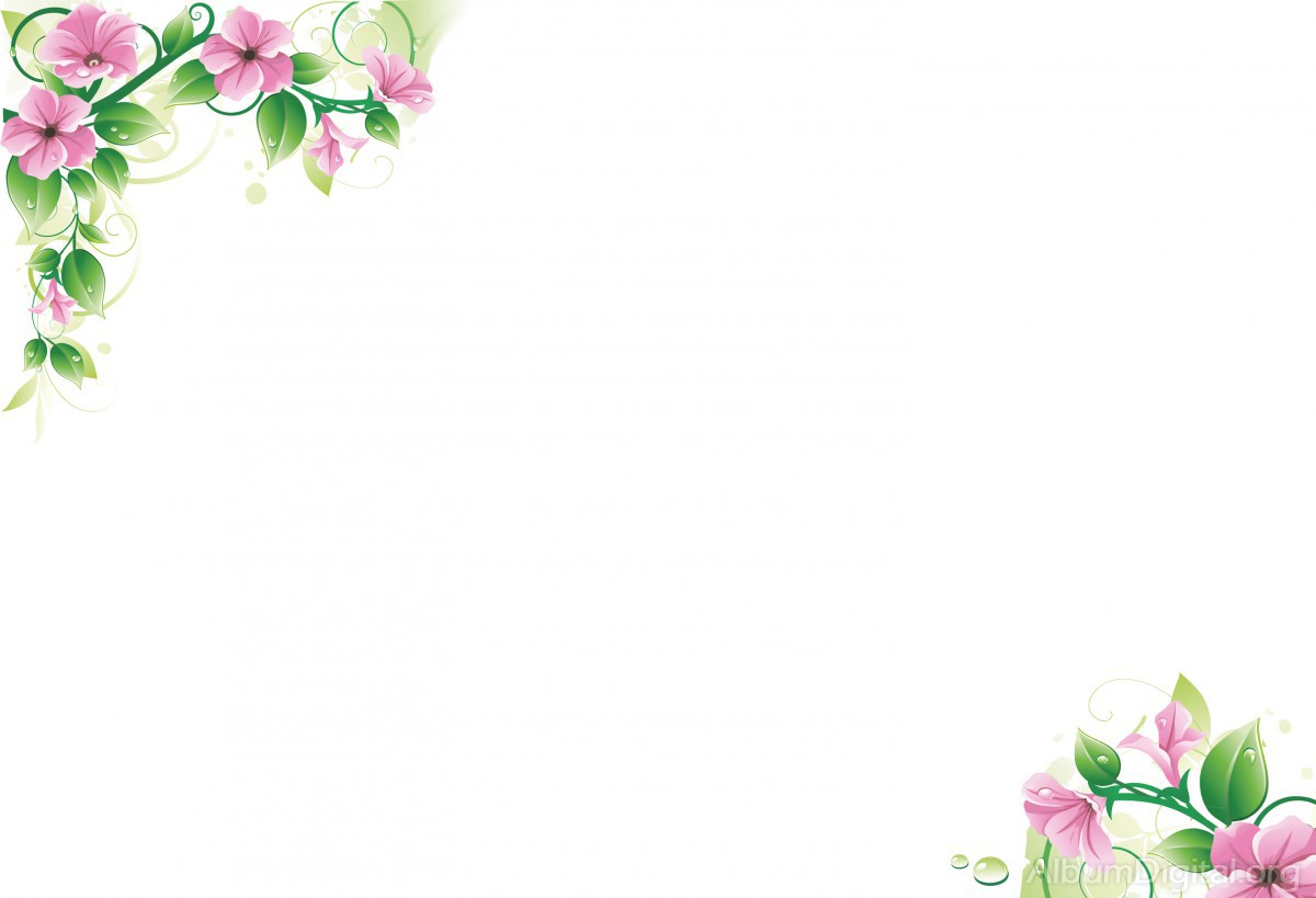 Fondo Primavera álbum Classic Flores Violetas: Fondo Primavera álbum Classic Rama Flores Rosas Y Gotas
