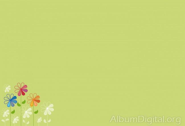 Fondo Primavera álbum Classic Flor Y Estrellas: Fondos Hofmann Pag16
