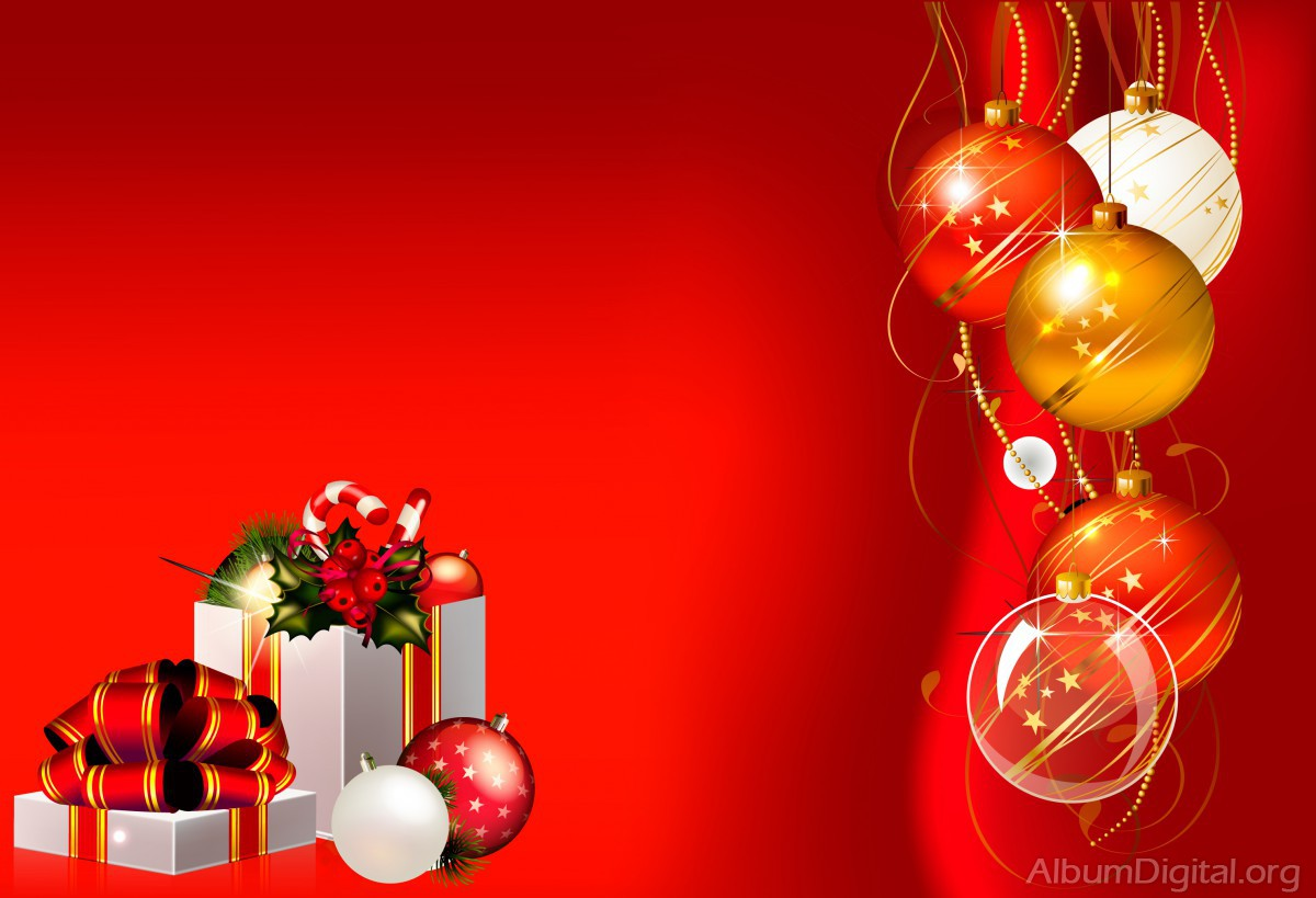 a8ecb870b97af Fondo rojo de Navidad para álbumes Hofmann classic