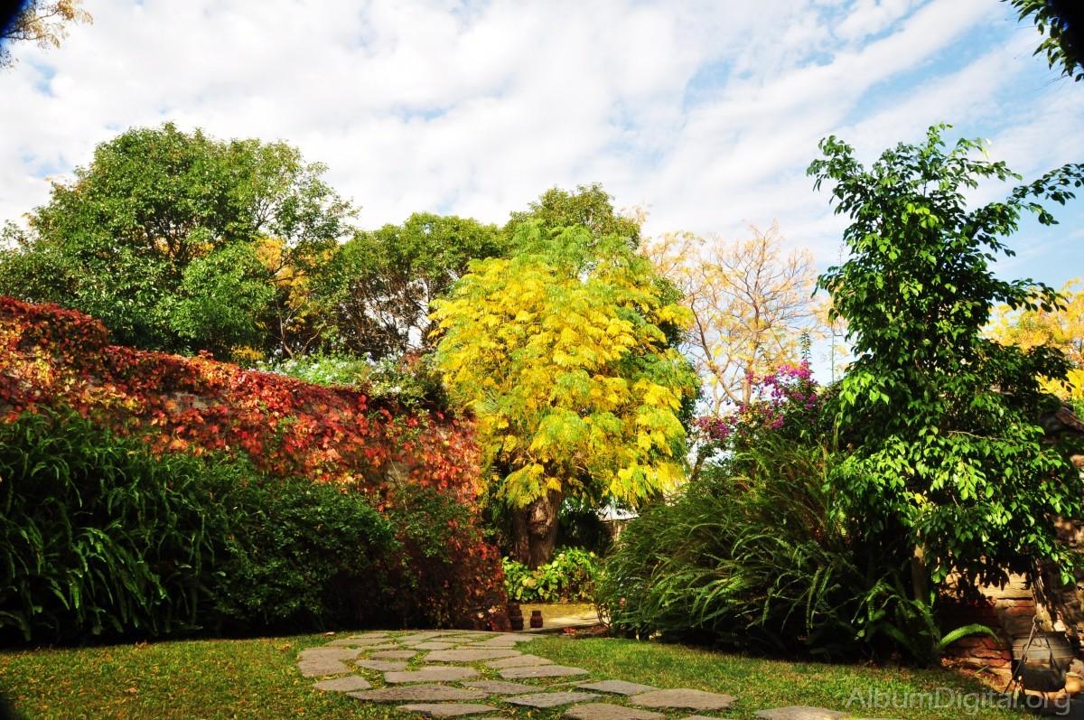 jardin en oto o