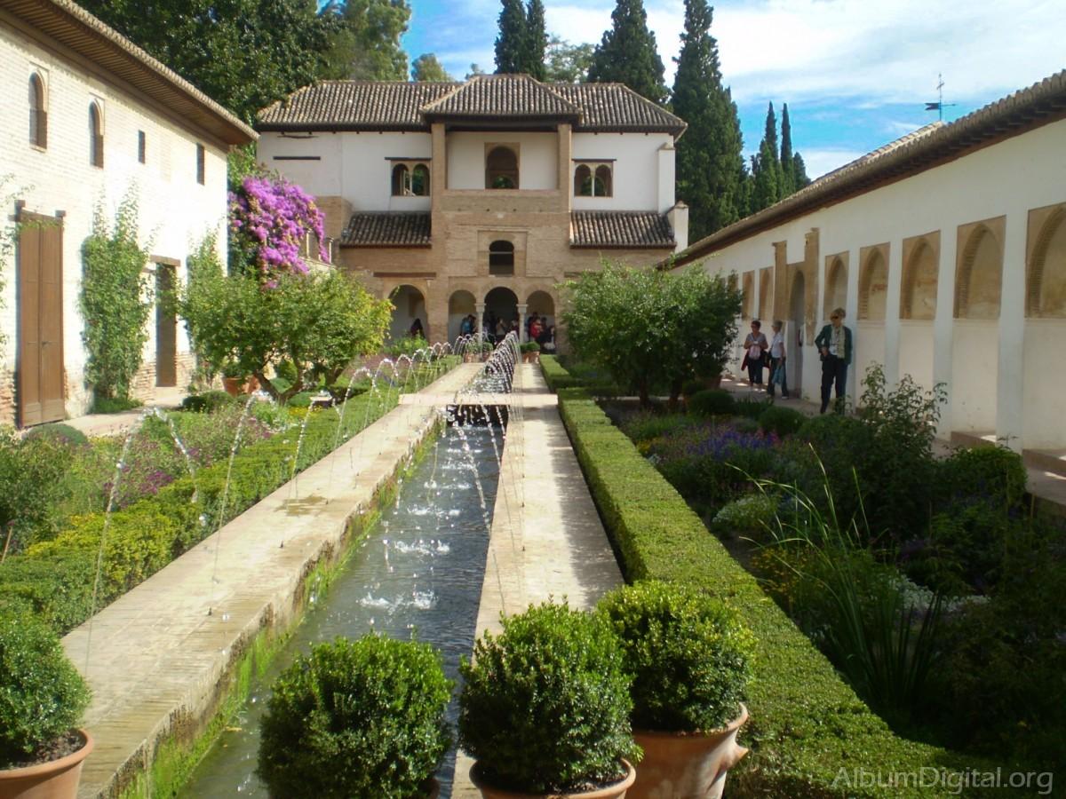 Jardines del generalife for Jardines alhambra