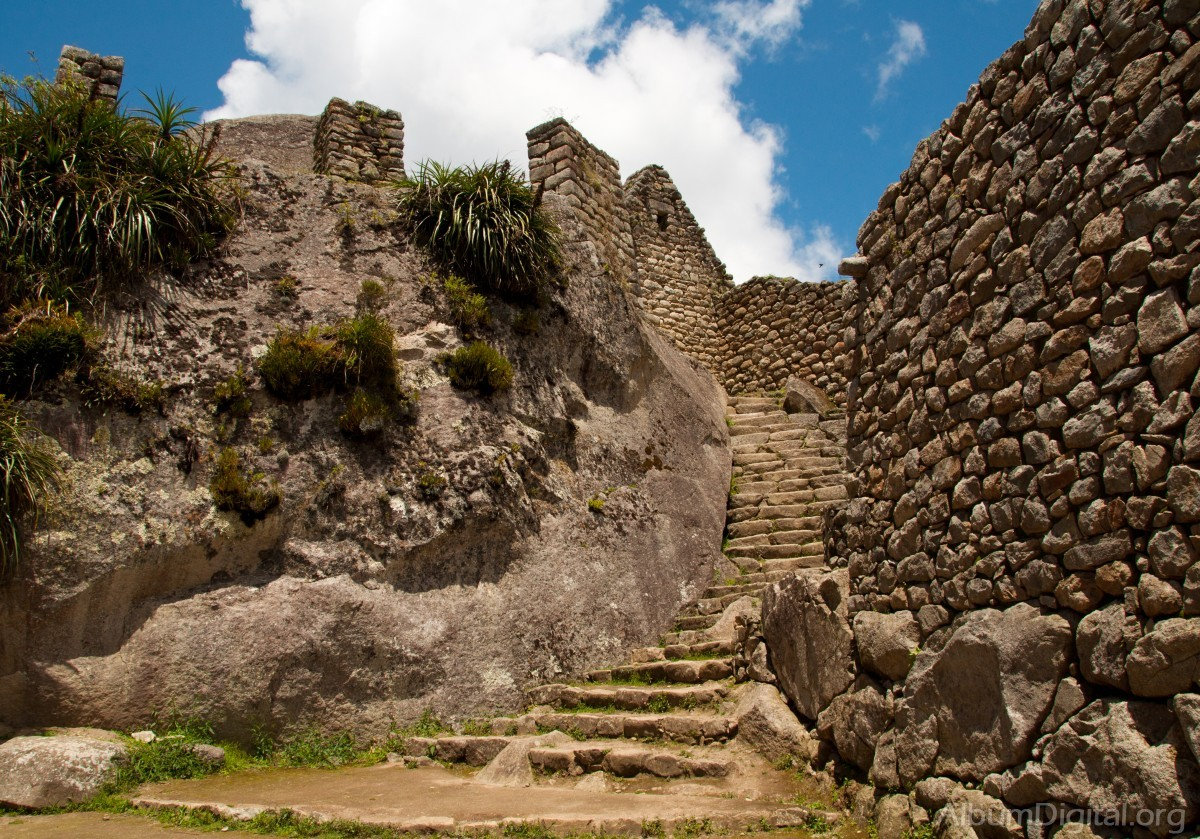 muros de piedra machu picchu