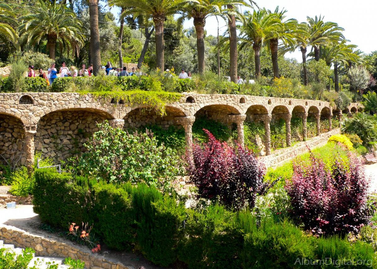 Paseo sobre los arcos - Arcos de jardin ...