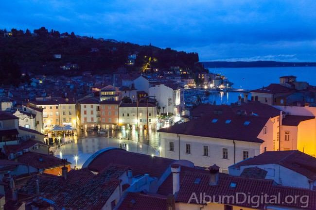 Plaza de Piran Eslovenia