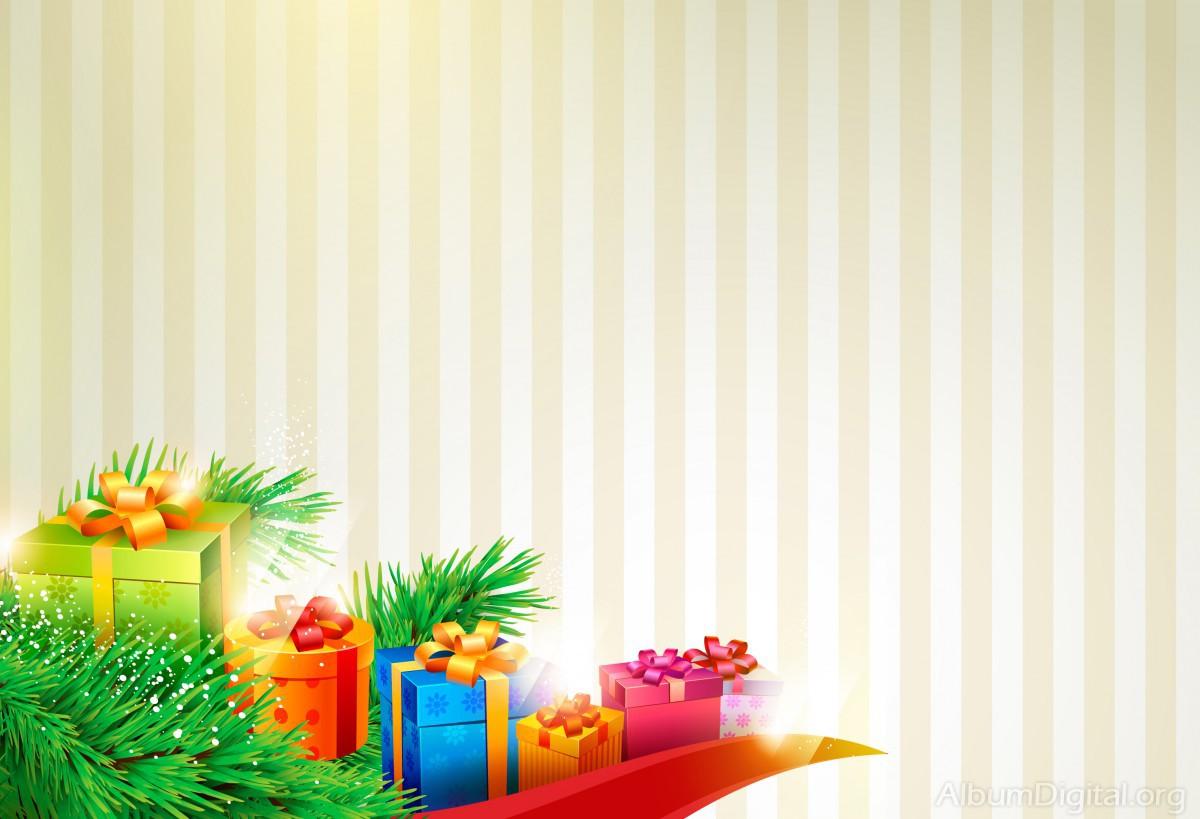 Regalos Junto Al árbol De Navidad Fondo Para Hofmann Classic