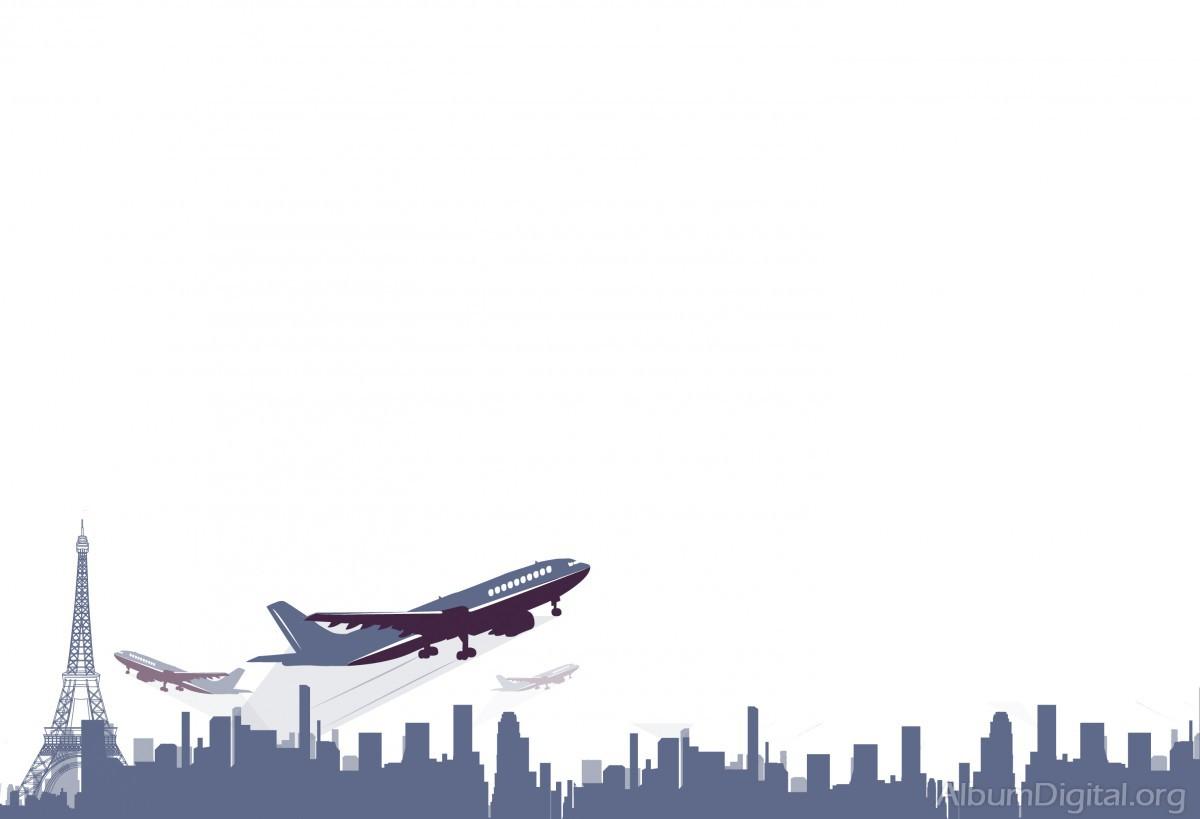 Eiffel Y Aviones Fondo Para Albumes De Viajes Classic