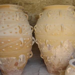 Vasijas en Knossos