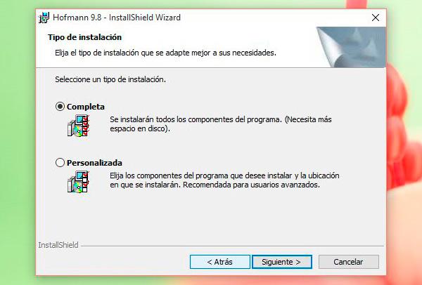 Instalando Hofmann en Windows 10 - Instalación completa